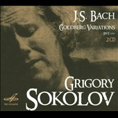 Bach: Goldberg Variations; Partita No. 2, BWV 826 &#242; English Suite No. 2, BWV 807 / Grigory Sokolov: piano