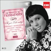 Icon: Brigitte Fassbaender, The great lieder recordings