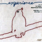 Experience: Songs by Lori Laitman (b.1955): Metropolitan Tower; Sunflowers; In This Short Life / Natalie Mann, soprano; Jeffrey Panko, piano