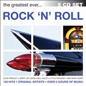 Various Artists: The  Greatest Ever Rock 'N' Roll [Box]