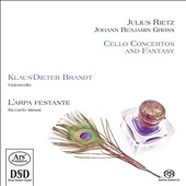Julius Rietz (1812-1877) & Johann Benjamin Gross (1809-1848): Cello Concertos and Fantasy / Klaus-Dieter Brandt, cello