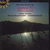 Boughton: Symphony no 3, Oboe Concerto / Francis, Handley