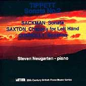 Tippett, Sackman, Saxton, Connolly: Piano Works / Nougarten