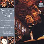 New Year's Concert 2001 / Harnoncourt, Wiener Philharmoniker