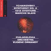 Tchaikovsky: Symphony no 4, 1812 Overture, etc / Ormandy