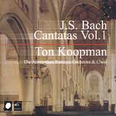 Bach: Cantatas Vol 1 / Ton Koopman, Amsterdam Baroque