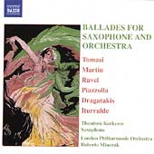 Ballades for Saxophone & Orchestra / Kerkezos, et al