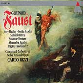 Gounod: Faust / Rizzi, Hadley, Gasdia, Ramey, Mentzer