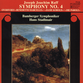 Raff: Symphony no 4 / Stadlmair, Bamberg SO