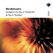 Mendelssohn: Symphonies no 3 & 4 / Masur, et al