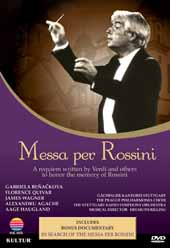 Messa per Rossini / Documentary starring Gabriela Beoaekova, Florence Quivar, James Wagner [DVD]