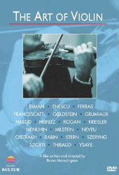 The Art of Violin / A Film by Bruno Monsaingeon [DVD]