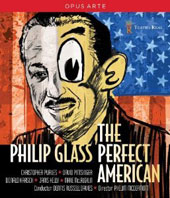 Philip Glass: The Perfect American / Christopher Purves, David Pittsinger, Donald Kaasch, George Janis Kelly, Marie McLaughlin. Dennis Russell Davies [Blu-Ray]