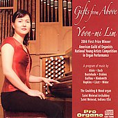 Gifts from Above - Bach, Alain, et al / Yoon-Mi Lin