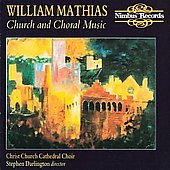 Mathias: Church & Choral Music / Darlington, Lawson, et al