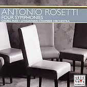 Rosetti: Four Symphonies / George Mais, Lithuanian CO