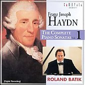 Haydn: Complete Piano Sonatas Vol 1 / Roland Batik