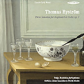 Bystrom: Sonatas for Violin and Keyboard / Hakkila, et al