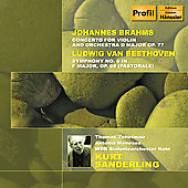 Beethoven: Symphony no 6;  Brahms / Sanderling, et al