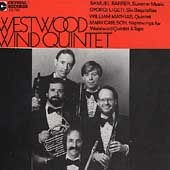 Barber, Ligeti, Mathias, Carlson / Westwood Wind Quintet