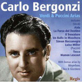 Verdi, Puccini, Meyerbeer, Giordano, Cilea: Opera Arias / Carlo Bergonzi, et al