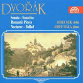 Dvorák: Works for Violin & Piano