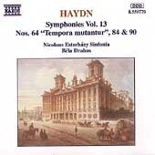 Haydn: Symphonies nos 64, 84 & 90 / B&eacute;la Drahos