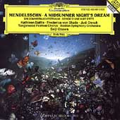 Mendelssohn: A Midsummer Night's Dream / Ozawa, Battle et al