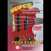 John Reid (Jazz): Super Jazz, Rock and Blues Techniques for Electric Bass [DVD]
