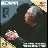 Beethoven: Symphonies Nos. 4 & 7 / Herreweghe