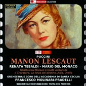 Puccini: Manon Lescaut / Tebaldi, Del Monaco