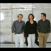Mendelssohn: Early Songs / Gerold Hubert, Ruth Ziesak, Carsten Suss