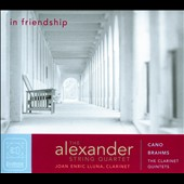 In Friendship: Brahms & Cano / The Alexander String Quartet, Joan Enric Lluna