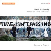 Bach, Kurtag: Works for Cello & Piano / Duo Arp Frantz