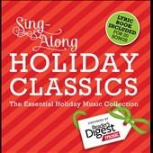 Various Artists: Sing Along Holiday Classics: The Essential Holiday Music Collection