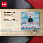 Gershwin: Rhapsody in Blue; An American in Paris; Concerto in F / Andr&eacute; Previn, piano, LSO