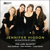 Jennifer Higdon: An Exaltation of Larks - Scenes from the Poet's Dream; Light Refracted; An Exultation of Larks / Gary Graffman, piano; Todd Palmer, clarinet