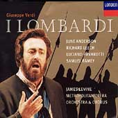 Verdi: I Lombardi / Levine, Anderson, Leech, Pavarotti, etc