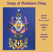 Songs of Madeleine Dring (1923-1977) / Wanda Brister, mz; Stanford Olsen, tenor; Timothy Hoekman, piano