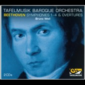 Beethoven: Symphonies 1-4 & Overtures / Tafelmusik Baroque Orch., Weil