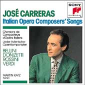 Italian Opera Composers' Songs / Jos&#233; Carreras, Katz