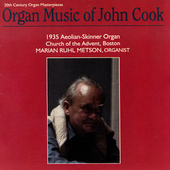 Organ Music of John Cook / Marian Metson