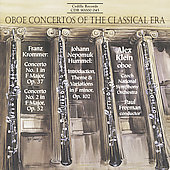 Oboe Concertos of the Classical Era / Klein, Freeman