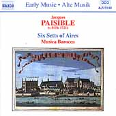 Early Music - Paisible: Six Setts of Airs / Musica Barocca