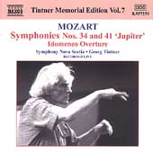 Tintner Memorial Edition Vol 7 - Mozart: Symphonies, etc