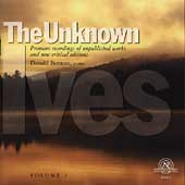The Unknown Ives Vol 2 / Donald Berman, Stephen Drury