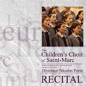 Recital / Les Petits Chanteurs de Saint-Marc