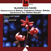 Blasons des fleurs / Elisabeth Mattmann, Claude Chappuis