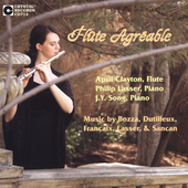 Flute Agr&#233;able - Bozza, Dutilleux, et al / Clayton, Song