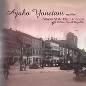 Ayako Yonetani and the Slovak State Philharmonic